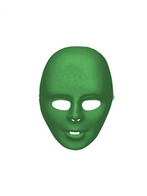 Green Adult Face Mask