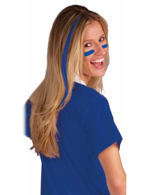 Blue Clip In Hair Extensions