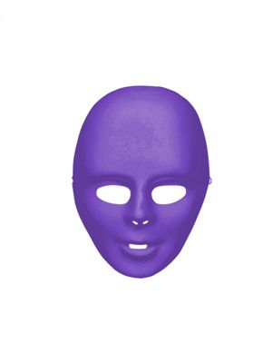 Purple Adult Face Mask