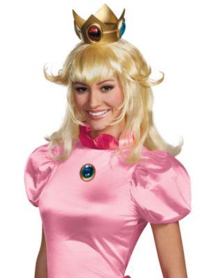 Super Mario Bros. Princess Peach Wig