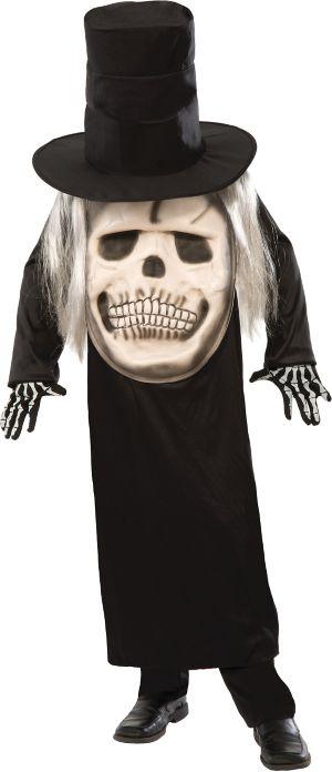Adult Big Face Grim Reaper Costume