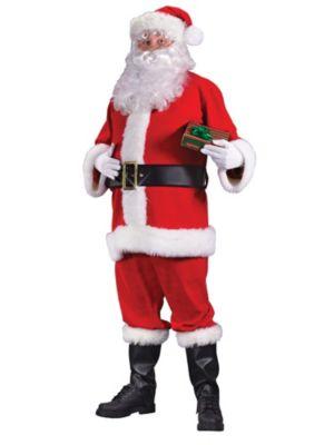 Adult Economy Santa Suit