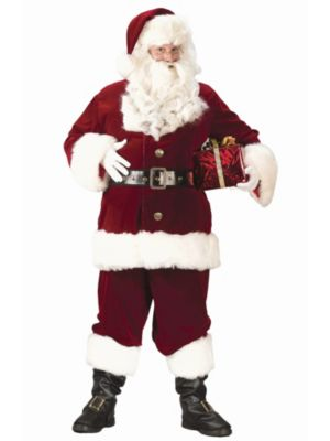 Adult Xxl Deluxe Santa Suit