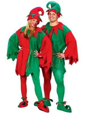 Economy Unisex Elf Costume Set