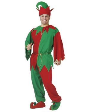 Adult Complete Elf Costume