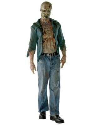 Adult the Walking Dead Deluxe Decomposed Zombie Costume