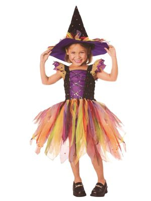 Glitter Witch Costume for Toddler