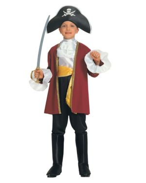 Captain Hook Costume for Toddler
