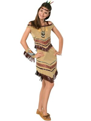 Native Princess Costume for Teen