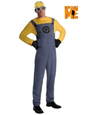 Adult Despicable Me Minion Dave Costume