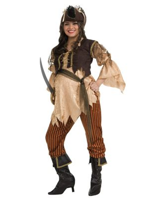 Pirate Queen Maternity Costume for Adult