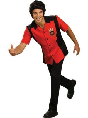 Adult Rock-N-Roll Bowler Shirt