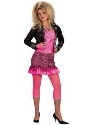 Adult 80s Groupie Costume