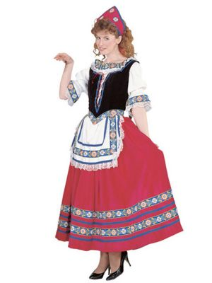 Adult Peasant Girl Costume