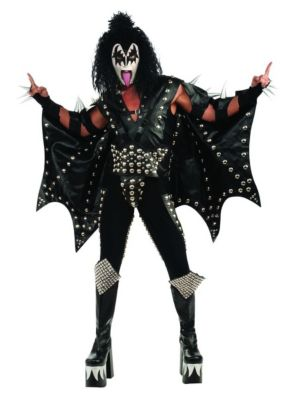 Adult Collector Kiss Demon Costume