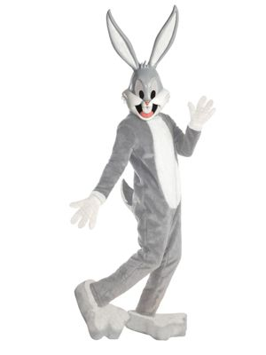 Unisex Adult Supreme Edition Bugs Bunny Mascot Costume