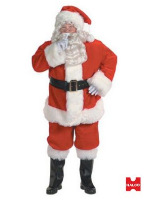 Xx Large Professional Santa Suit