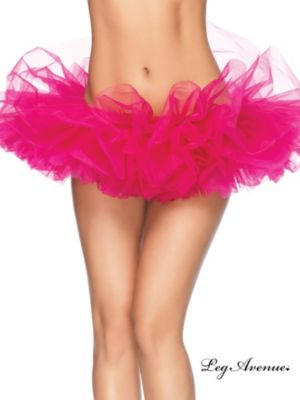 Women's Hot Pink Organza Tutu
