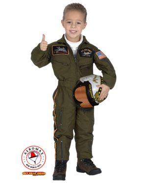 Child Junior Armed Forces Pilot Costume