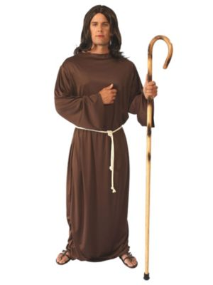 Adult Unisex Brown Biblical Gown Costume