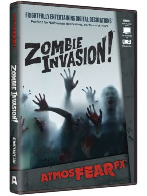 Scary Zombie Invasion! DVD