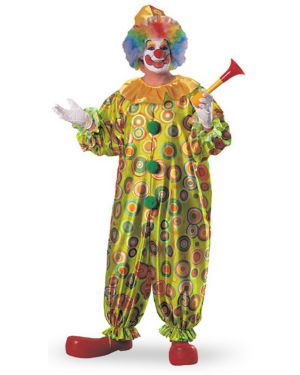 Adult Plus Size Jack the Jolly Clown Costume