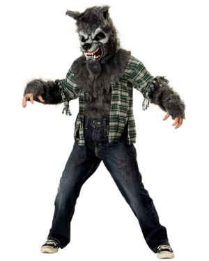 Child Howling At The Moon Costume