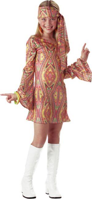 Kids 70s Disco Dolly Costume