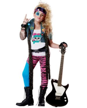 Child Glam Rocker Costume