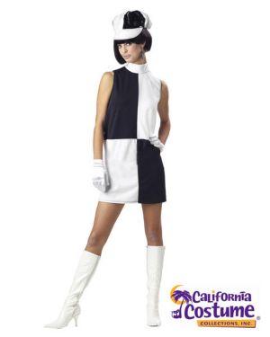 Adult Go-go Chick Geo Costume