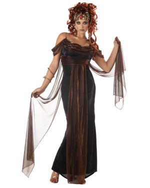 Medusa the Mythical Siren Costume for Adult