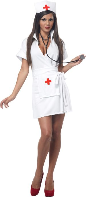 Sexy Adult Fashion Nurse Costume