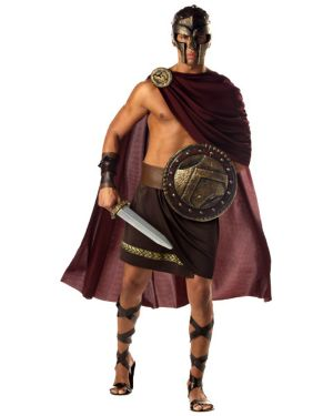 Spartan Warrior Mens Greek Costume