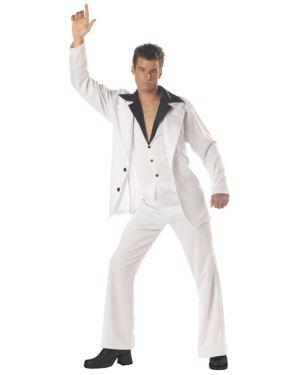 Saturday Night Fever Mens Disco Costume