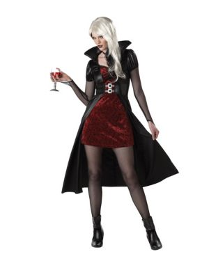 Adult Blood Thirsty Beauty Vampiress Costume