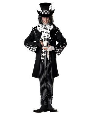 Adult Dark Mad Hatter Costume