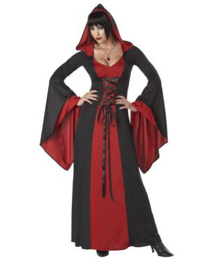 Adult Deluxe Hooded Gown Costume