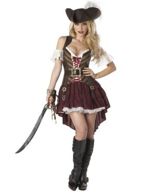 Adults Sexy Pirate Swashbuckler XX-Large Costume