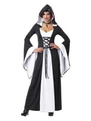 Adult Deluxe Hooded Robe Dress Costume