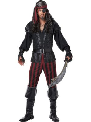 Adult Ruthless Rogue Pirate Costume