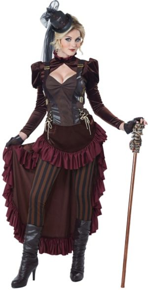 Sexy Adult Victorian Steampunk Costume