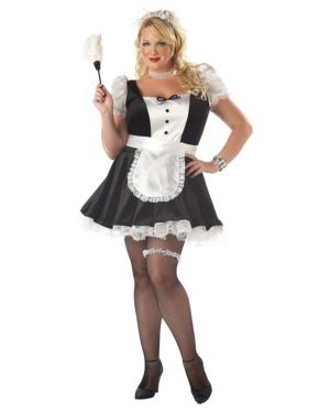 Fiona the French Maid Womens Plus Costume