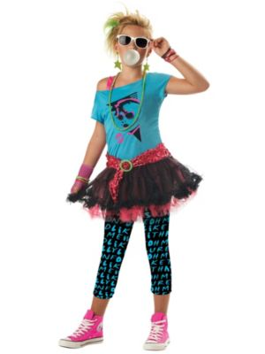 Tweens 80s Valley Girl Costume