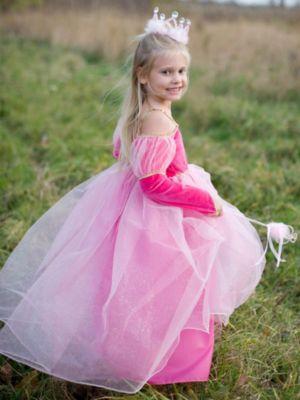 Child Dark Pink Princess Paige Dress