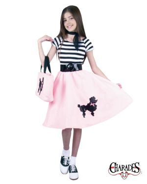 Kids Poodle Skirt