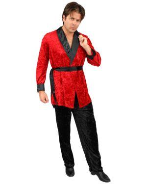 Plus Size Smoking Jacket Mens Costume