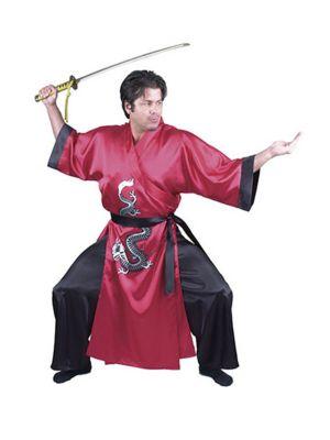 Red Adult Samurai Costume