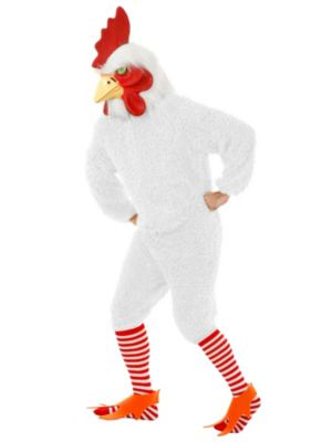 Adult White Rockin Rooster Costume