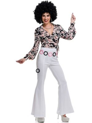 Adult 70's Hottie Disco Shirt Costume