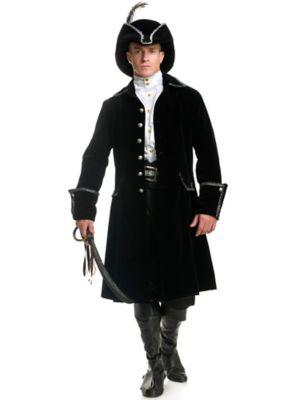 Adult Distinguished Pirate Jacket Costume